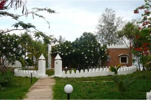 Vue exterieur des villas